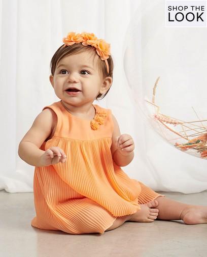 Feestelijk en luchtig in oranje